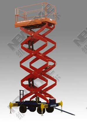 Large load lifting platform