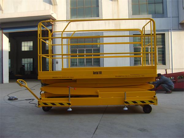 With mobile table lift