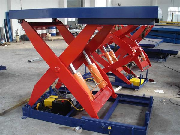 Fixed hydraulic electric lift